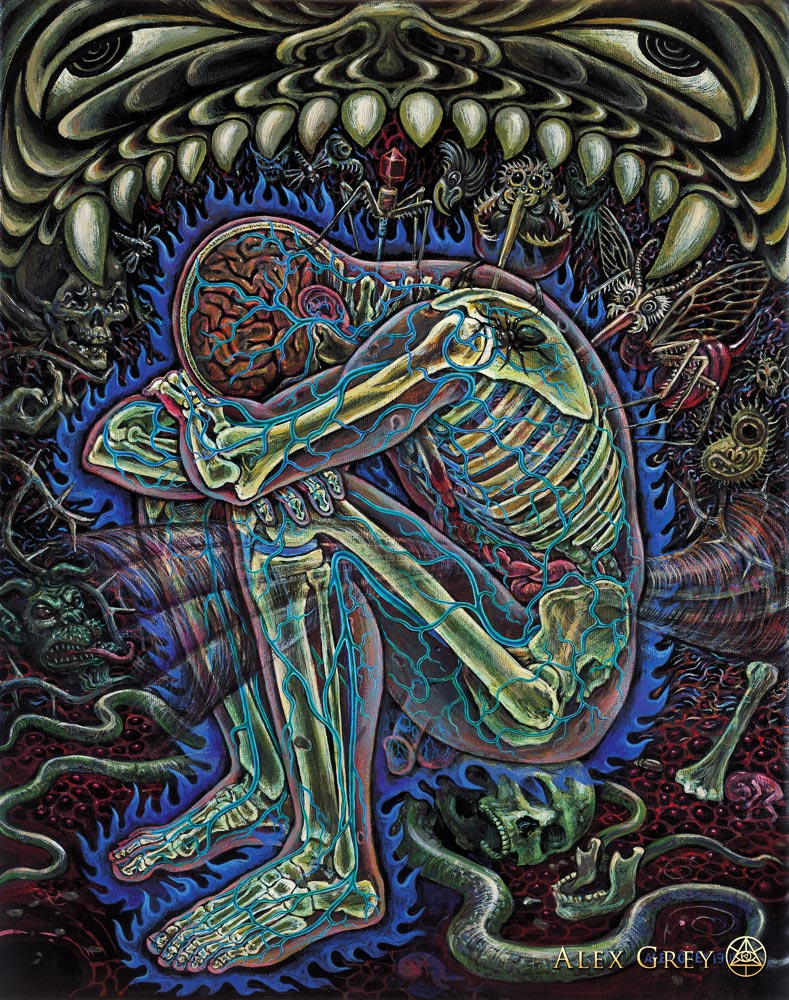 Alex Grey: Despair